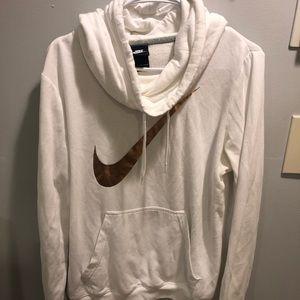 NIKE White Sweatshirt